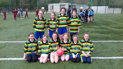 Girls soccer team reach Lees road  - Scoil Muire na Dea